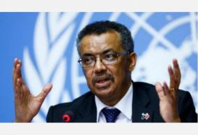 the-head-of-the-world-health-organization-said-on-tuesday-he-was-very-disappointed