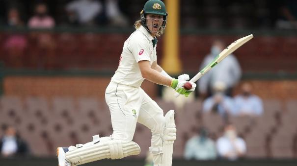 will-finds-a-way-for-australia-before-labuschagne-smith-take-hosts-to-166-2-at-stumps