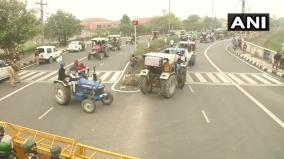 farmers-take-out-tractor-march-against-farm-laws