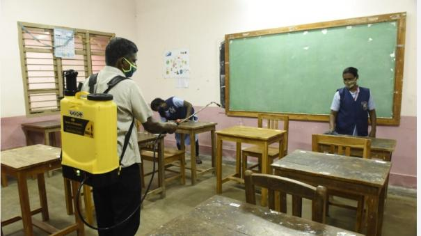 schools-to-open-soon-cleaning-work-in-government-schools-is-in-full-swing