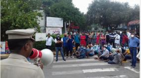 sudden-cancellation-of-special-counselling-students-and-parents-protest-against-the-jipmer-administration