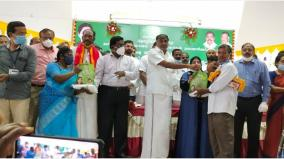 pongal-gift-for-construction-workers-in-tirupati-for-the-first-time-in-tamil-nadu-minister-kc-veeramani-is-proud