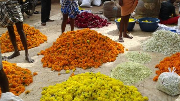 prices-of-flowers-go-up-ahead-of-pongal