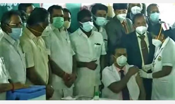 corona-vaccination-work-started-in-centers-across-tamil-nadu-chief-minister-started-in-madurai