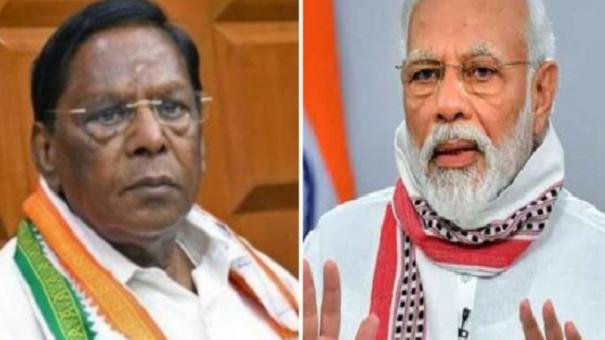 allow-politicians-to-take-corona-vaccine-pudhuchery-cm-writes-to-pm-modi