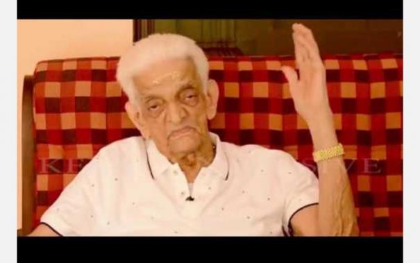 unnikrishnan-namboothiri-recovers-from-covid-at-98-yrs