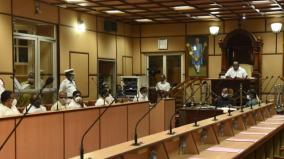 the-puducherry-legislative-assembly-events-were-boycotted-by-the-opposition-and-the-coalition-dmk