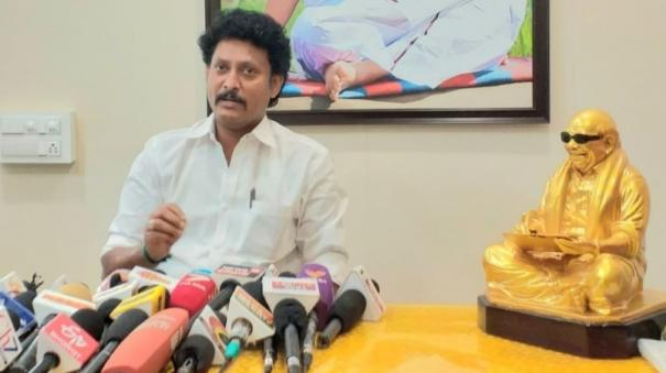 why-did-not-participate-in-the-bhoomi-pooja-organized-by-kn-nehru-for-the-dmk-state-conference-mahesh-poyamozhi