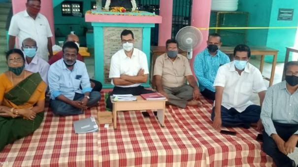 insisting-on-12-demands-puducherry-tagore-government-college-chief-dream-gravity-struggle