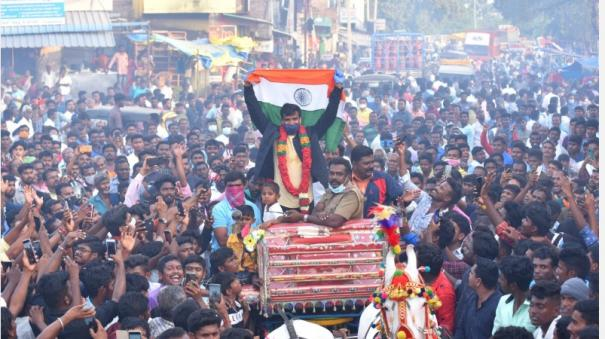 cricketer-natarajan-welms-returning-in-his-hometown-op-complement-stocks-at-remo-what-is-the-ration