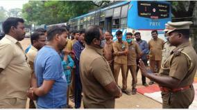 siege-protest-in-karaikal-puducherry-transport-corporation-contract-employees-arrested