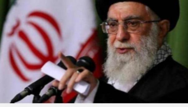 iran-s-supreme-leader-s-office-has-posted-a-photomontage-of-former-us-president-donald