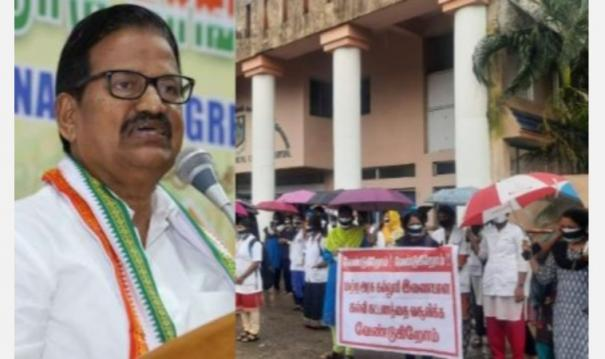 chidambaram-medical-college-students-who-have-been-fighting-for-46-days-congress-will-jump-into-the-struggle-if-a-proper-solution-is-not-found-ks-alagiri-warns