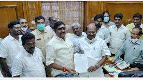 minister-mla-resigns-namachchivayam-cong-in-pondicherry-the-regime-is-not-in-danger-now