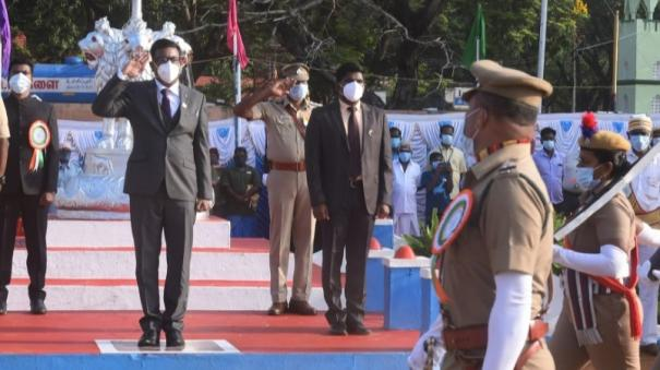 chief-minister-s-medal-for-57-policemen-on-ramanathapuram-republic-day