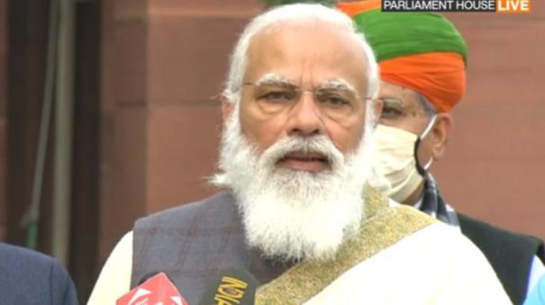 fm-gave-four-five-mini-budgets-in-2020-upcoming-budget-will-be-seen-as-part-of-that-series-pm-modi
