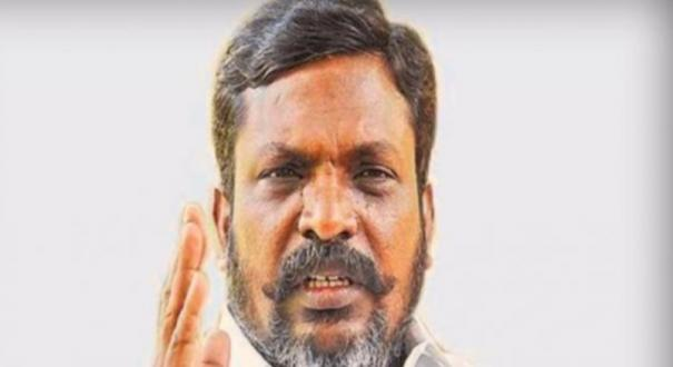 president-s-speech-is-a-makeover-to-cover-up-the-failures-of-the-modi-government-thirumavalavan