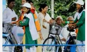 bengal-bjp-leader-s-daughter-says-no-to-government-bicycle-to-protest-father-s-arrest