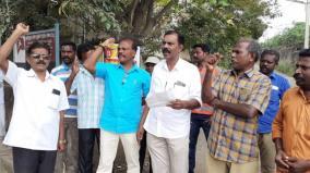 tenkasi-eb-employees-strike-affect-bill-collection-work