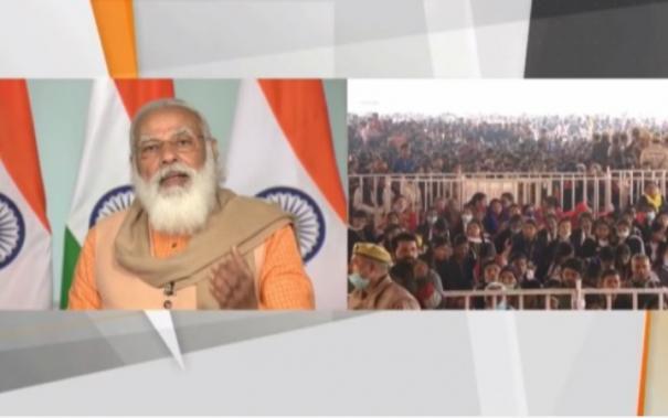pm-modi-inaugurates-chauri-chaura-centenary-celebrations