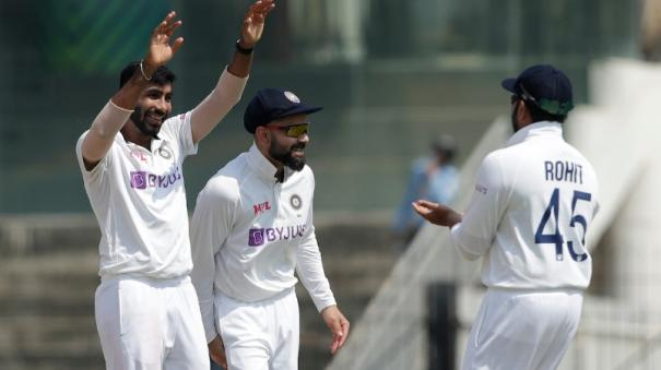 first-test-bumrah-ashwin-strike-as-england-reach-67-2-at-lunch-on-day-1