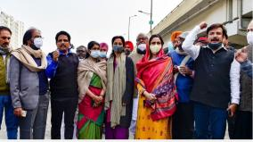 weren-t-allowed-to-meet-farmers-at-ghazipur-border-opposition-mps-write-to-lok-sabha-speaker