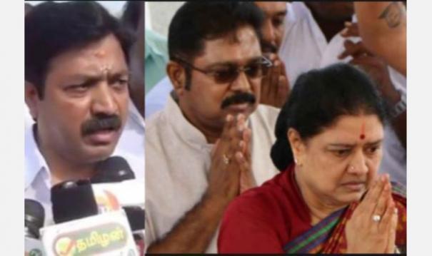 sasikala-ttv-dhinakaran-men-plan-to-riot-in-tamil-nadu-complaint-seeking-action-on-it-interview-with-minister-cv-shanmugam