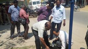 crude-bomb-hurled-near-thachanallur-police-station