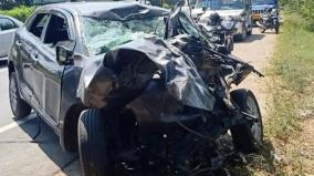 car-collides-with-a-roadside-tree-near-tindivanam-4-members-of-the-same-family-were-killed