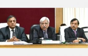 chief-election-commissioner-consults-on-2nd-day-consultation-with-it-rbi-customs-dgp-etc