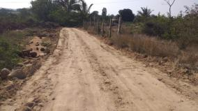 panchayat-leader-builds-road-near-hosur-at-rs-20-lakh-own-cost-flexibility-of-villagers