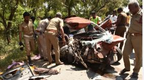 tragedy-near-thiruvannamalai-4-members-of-the-same-family-killed-in-government-bus-car-collision-suffering-2-children-losing-parents