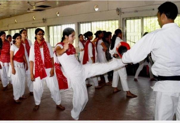 sikkim-girl-students-of-classes-6-8-to-receive-self-defence-training