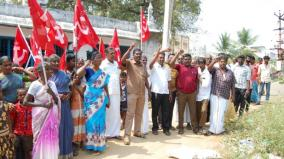 public-road-that-had-been-occupied-for-10-years-cpim-protest