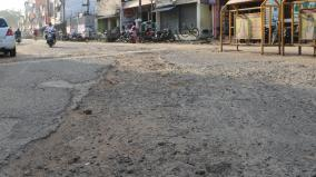 nayanmars-festival-affected-due-to-damaged-road