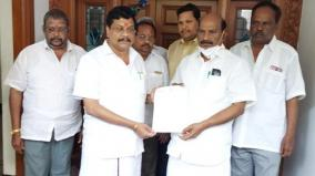 dmk-mla-resigns-from-puducherry-ruling-party-alliance