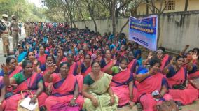 anganwadi-workers-seeking-to-be-declared-as-government-employees