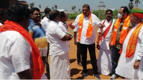 amit-shah-to-visit-karaikal-on-february-28-bjp-executives-inspects-the-arrangements