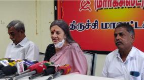aiadmk-government-not-opening-its-mouth-in-favor-of-farmers-coalition-will-fail-marxist-senior-leader-brinda-karat
