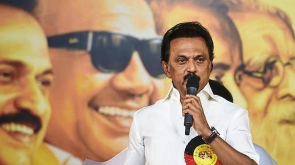 stalin-s-contest-in-kolathur-for-the-third-time-presented-petition-to-rs-bharathi