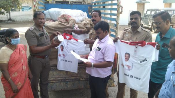 election-mnm-party-symbol-bearing-tshirts-vessels-seized