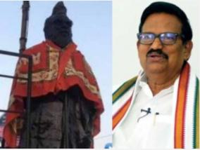 ks-alagiri-condemns-the-wearing-of-saffron-to-the-periyar-statue-in-orathanadu