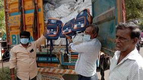 flying-squad-seizes-4-000-book-bags-in-container-truck-in-thanjavur