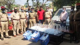 352-liters-of-liquor-seized-near-puducherry-two-arrested