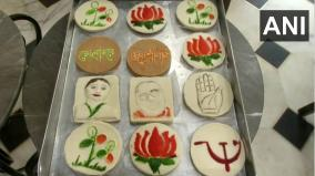 ahead-of-assembly-polls-kolkata-sweet-shop-comes-out-with-political-sandesh