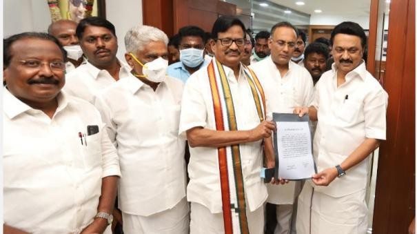 dmk-congress-alliance-firm-stalin-ks-alagiri-signed-kanyakumari-constituency-was-also-allotted