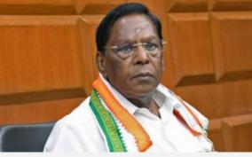 former-ministers-who-are-dissolving-the-congress-and-dragging-competitive-executives-to-the-bjp-and-the-nr-congress-will-narayanasamy-overcome-the-crisis
