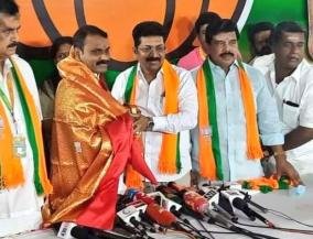 opportunity-to-contest-for-saravanan-who-joined-bjp-in-the-morning-bjp-struggle-did-not-go