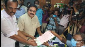 dinakaran-files-nomination-in-kovilpatti-constituency