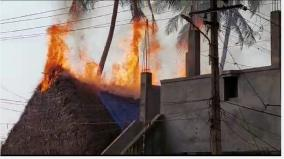 20-cottages-in-thanjavur-north-gate-area-destroyed-by-fire